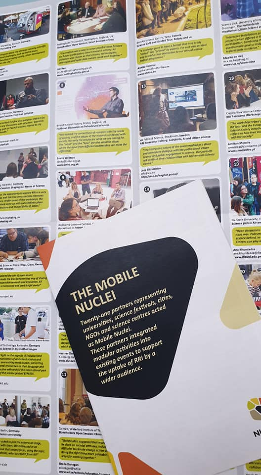 2,200 people took part in Mobile Nuclei in Europe and China