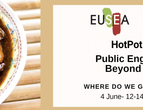 EUSEA/COST- HOT POT – Public Engagement Beyond COVID